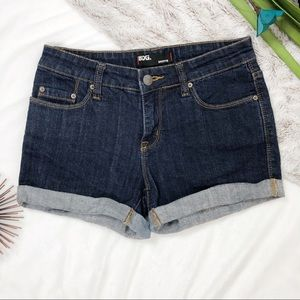 UO • BDG • Shortie Rolled Cuff Denim Shorts
